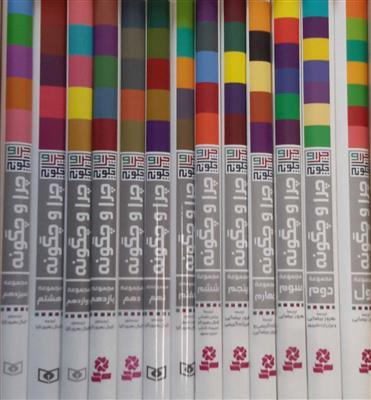 مجموعه چرا و چگونه،همراه با استند (13جلدی،گلاسه)